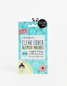 Очищающие патчи для проблемных участков кожи (18 штук) Oh K! - SOS-Бесцветный