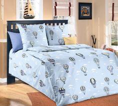 """Комплект постельного белья """"Покорители небес 1"""" Текс-Дизайн 1,5-спальный"""