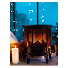Светильник Neon-Night Home Винтаж фор.:камин 3лам. ПВХ/медь (511-032)