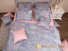 """Комплект постельного белья """"Китайский сад"""" 1,5 спальный Хлопковый край"""