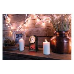 Светильник Neon-Night Home Старинные часы фор.:камин 3лам. ПВХ/медь (511-020)
