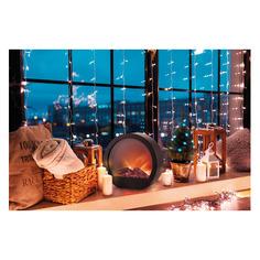 Светильник Neon-Night Home Лаунж фор.:камин 7лам. ПВХ/медь (513-038)