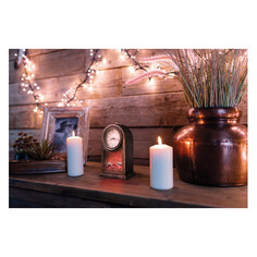 Светильник Neon-Night Home Старинные часы фор.:камин 3лам. ПВХ/медь (511-021)