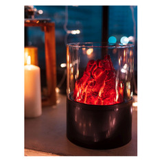 Светильник Neon-Night Home Лава фор.:камин 10лам. ПВХ/медь (511-036)