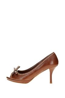 Туфли женские PRADA 1KP162/LXE/F0BW5 коричневые 39.5 RU