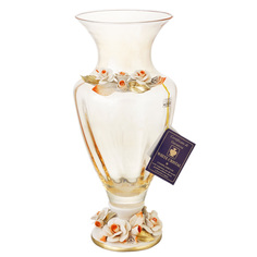 Ваза White Cristal Янтарь