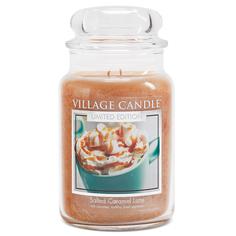 """Ароматическая свеча Village Candle """"Salted Caramel Latte"""", большая/4260298"""