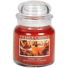 """Ароматическая свеча Village Candle """"Mulled Cider"""", средняя/4160015"""