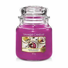 Свеча ароматическая Yankee Candle Exotic Acai Bowl Экзотические ягоды 65-90 ч