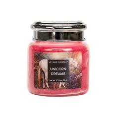 """Ароматическая свеча Village Candle """"Unicorn Dreams"""", маленькая"""