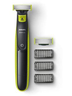 Триммер Philips OneBlade QP2520/60 с 3 Black/Green