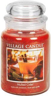 """Ароматическая свеча Village Candle """"Mulled Cider"""", большая"""