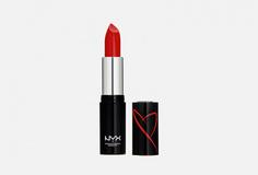 Помада для губ увлажняющая с сатиновым финишем NYX Professional Makeup