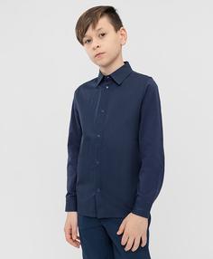 Сорочка синяя Button Blue