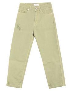 Джинсовые брюки-капри Vicolo