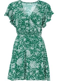 Платье с воланами Bonprix