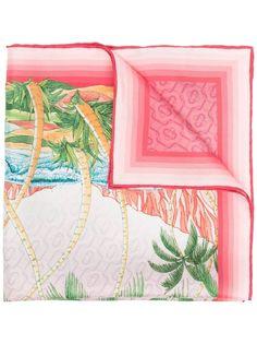 Casablanca платок с графичным принтом