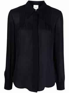 PAUL SMITH блузка с заостренным воротником