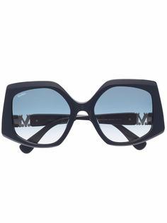 Max Mara солнцезащитные очки в массивной оправе