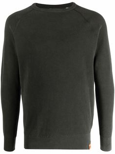 Aspesi пуловер в рубчик со вставками