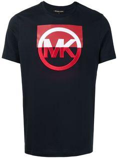 Michael Michael Kors футболка в стиле колор-блок с логотипом