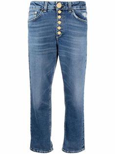 Dondup укороченные джинсы с завышенной талией
