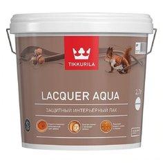 Лак Tikkurila Lacquer Aqua полуглянцевый водорастворимый бесцветный 2.7 л
