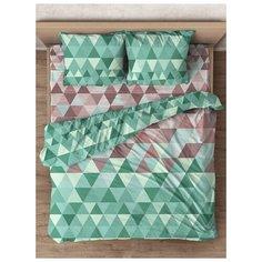 Комплект постельного белья евро, WENGE, Morning foliage, 50х70см