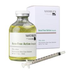 Matrigen Acne Free Active Ampoule Ампульная сыворотка для жирной кожи, 50 мл