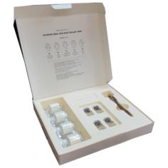Karatica Im Micro Real Skin Shot Roller 14000 Набор мезороллер и сыворотка для лица 4 амп х 3 мл