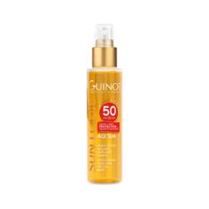 Guinot Масло Huile Seche Solaire SPF 50 Антивозрастное Сухое для Тела с Высокой Степенью Защиты SPF 50, 150 мл
