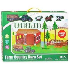 """Игровой набор Oubaoloon """"Ферма с трактором"""", в коробке (5279-34)"""