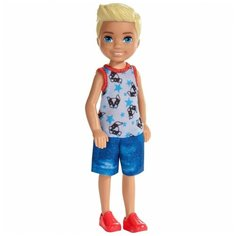 Кукла Barbie Челси Блондин, 13 см, FXG80