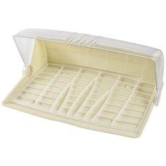 Хлебница Plast Team PT3555МЛ-6 большая 5л молочный