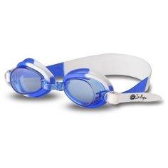 Очки для плавания детские INDIGO 723 G Бело-Синий