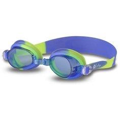 Очки для плавания детские INDIGO 713 G Сине-желтый