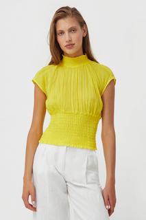блуза из жатого хлопка Finn Flare