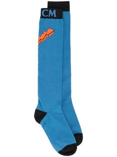 MCM носки с логотипом