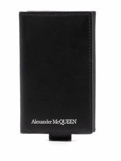 Alexander McQueen ключница с гравировкой логотипа