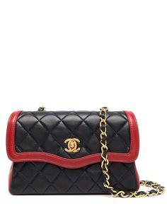 Chanel Pre-Owned стеганая сумка на плечо 1990-х годов с логотипом CC