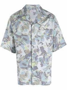 Kenzo рубашка с короткими рукавами и принтом