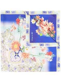 Etro платок с цветочным принтом