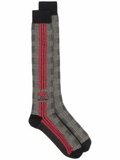 Etro носки в клетку с логотипом