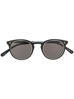 Garrett Leight солнцезащитные очки Marmont S в круглой оправе