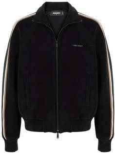 Dsquared2 спортивная куртка с контрастными полосками