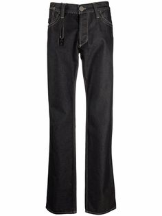 Gianfranco Ferré Pre-Owned широкие джинсы 1990-х годов