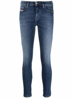 Diesel укороченные джинсы скинни Slady