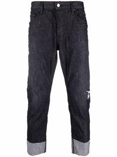 Dsquared2 прямые джинсы с подворотами