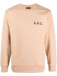 A.P.C. толстовка с логотипом