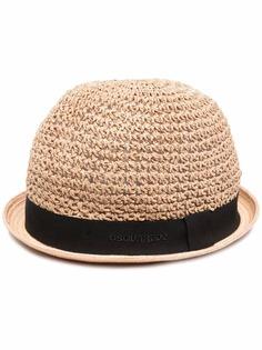 Dsquared2 плетеная шляпа